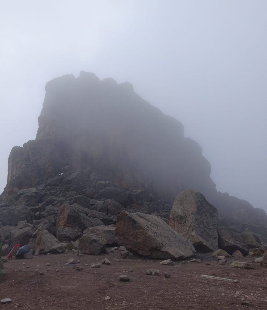 The Lava Tower In Fog