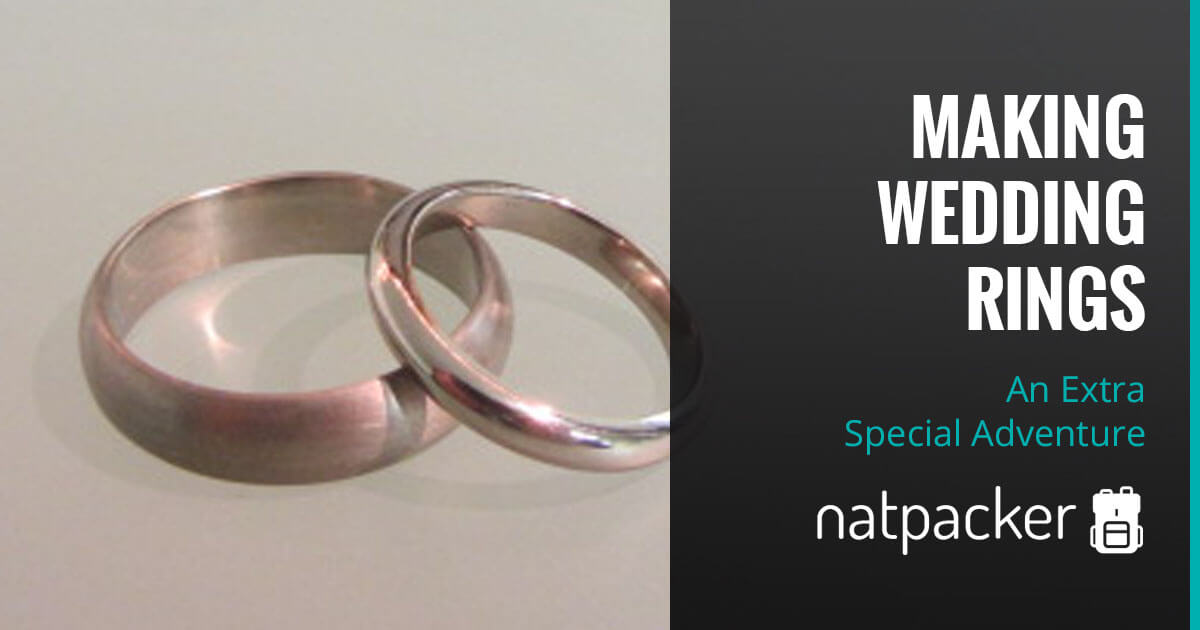 An Extra Special Adventure Making Wedding Rings