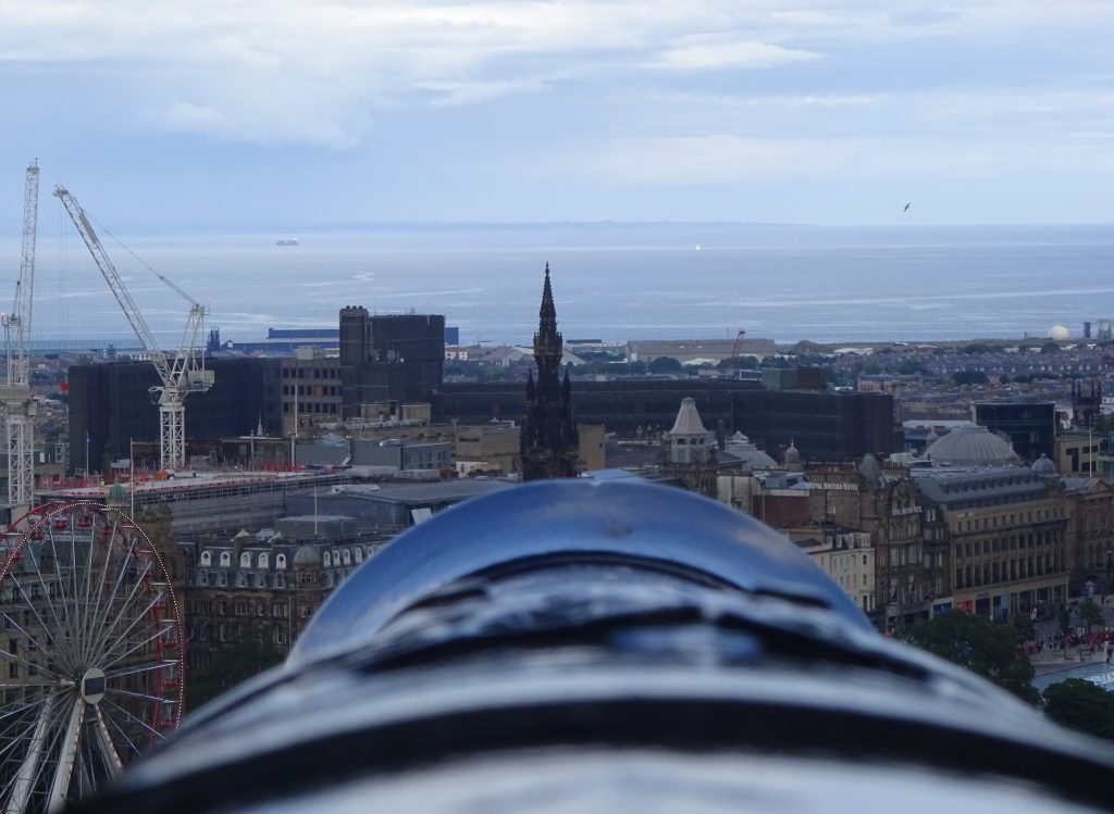 Canon In Edinburgh Castle