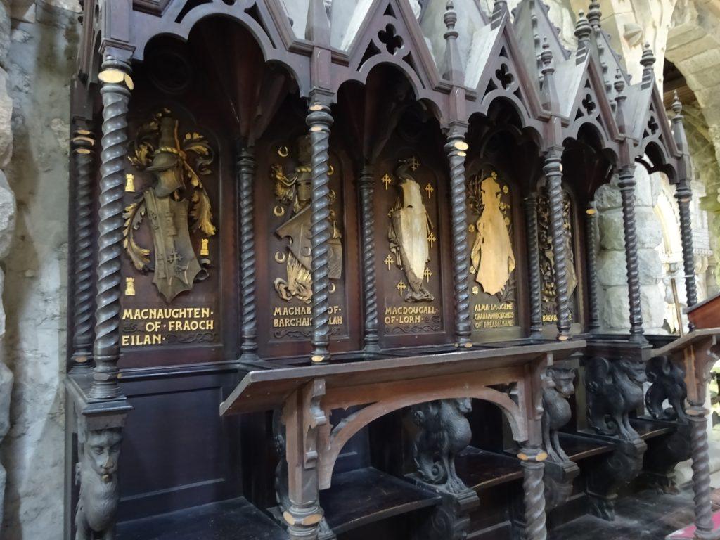 Clan Seats In The Church