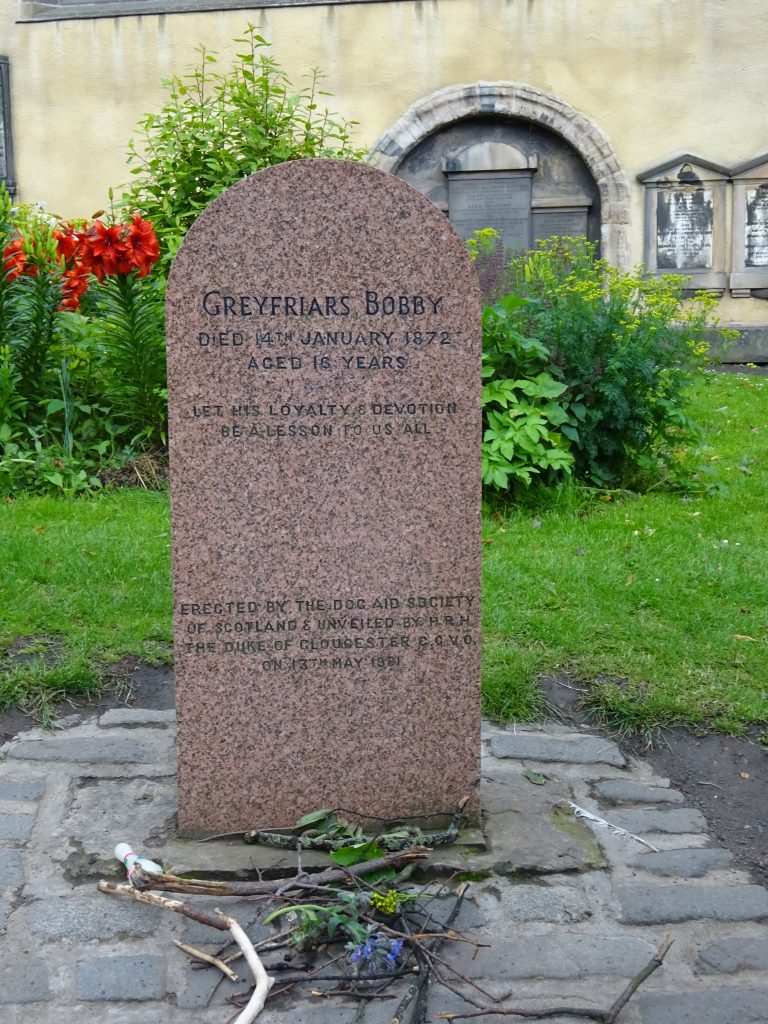 The Grave Of Greyfriars Bobby