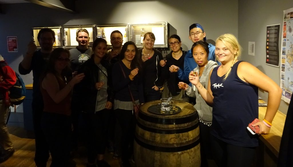 Group Sampling Talisker