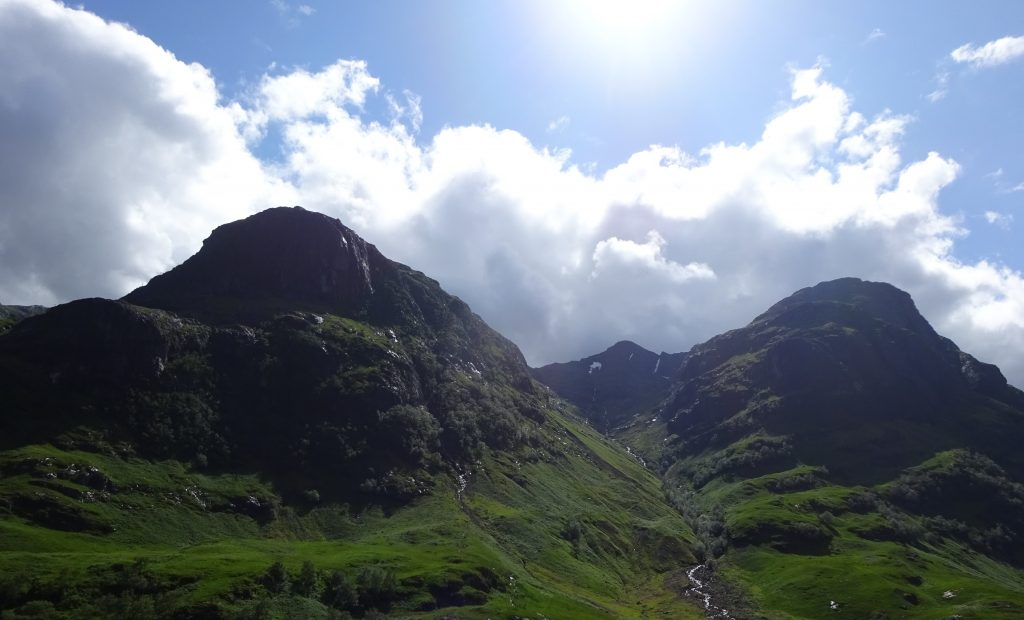 Three Sisters At Glencoe