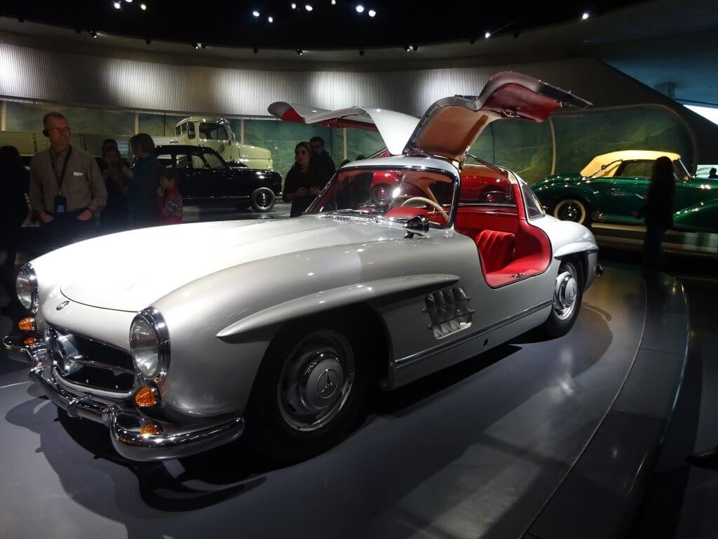 Favourite Car In The Mercedes-Benz Museum