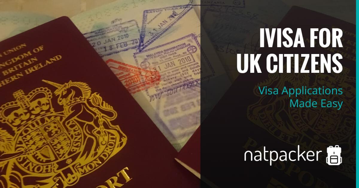Ivisa For United Kingdom Citizens Visa Applications Made Easy