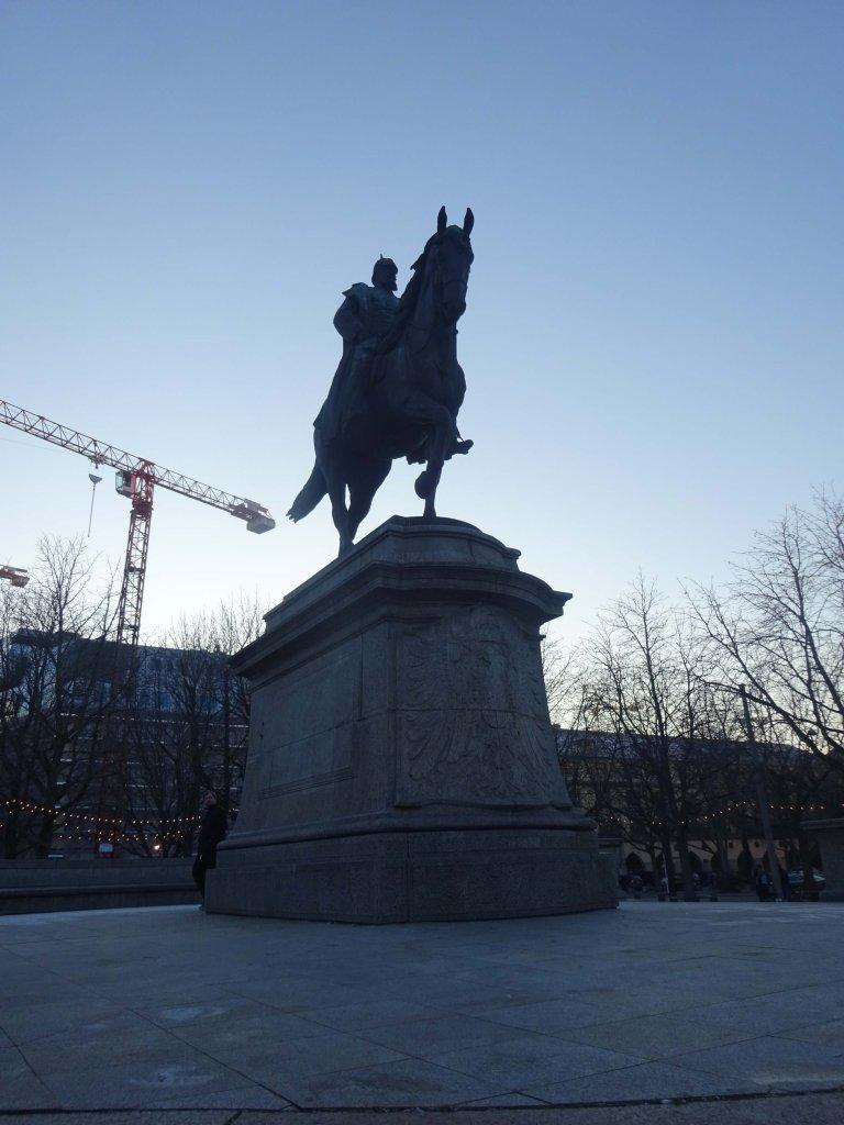 Wilhelm von Rumann Statue