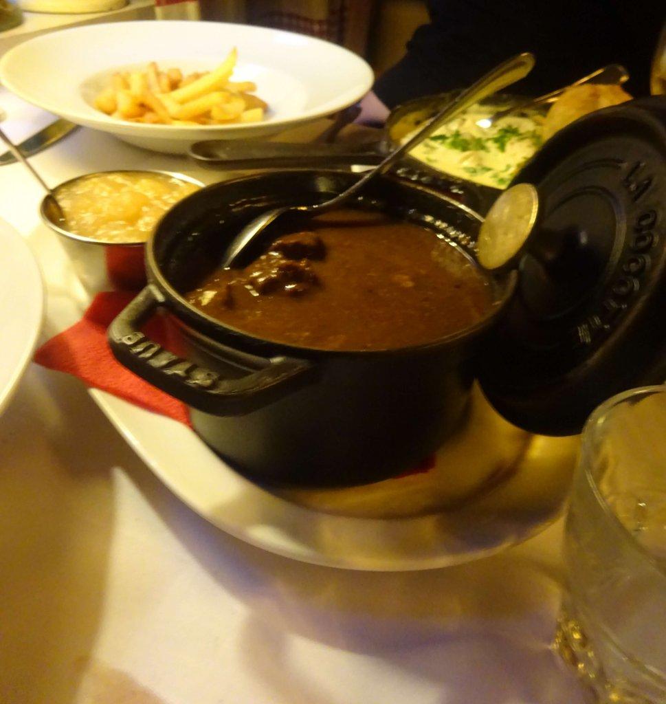 Beef Stew At De Vlaamsche Pot