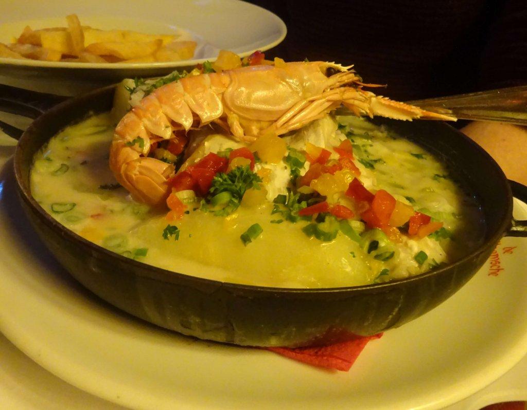 Fish Stew At De Vlaamsche Pot