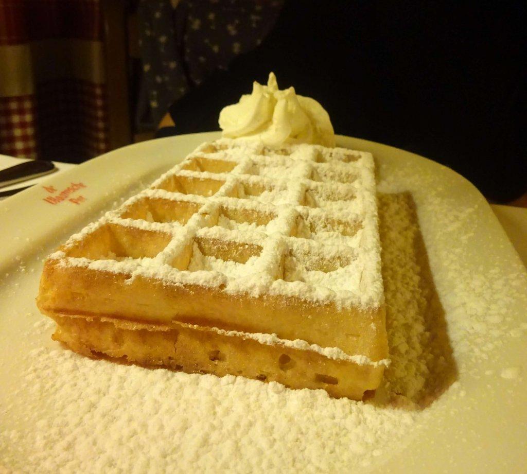 Waffle At De Vlaamsche Pot