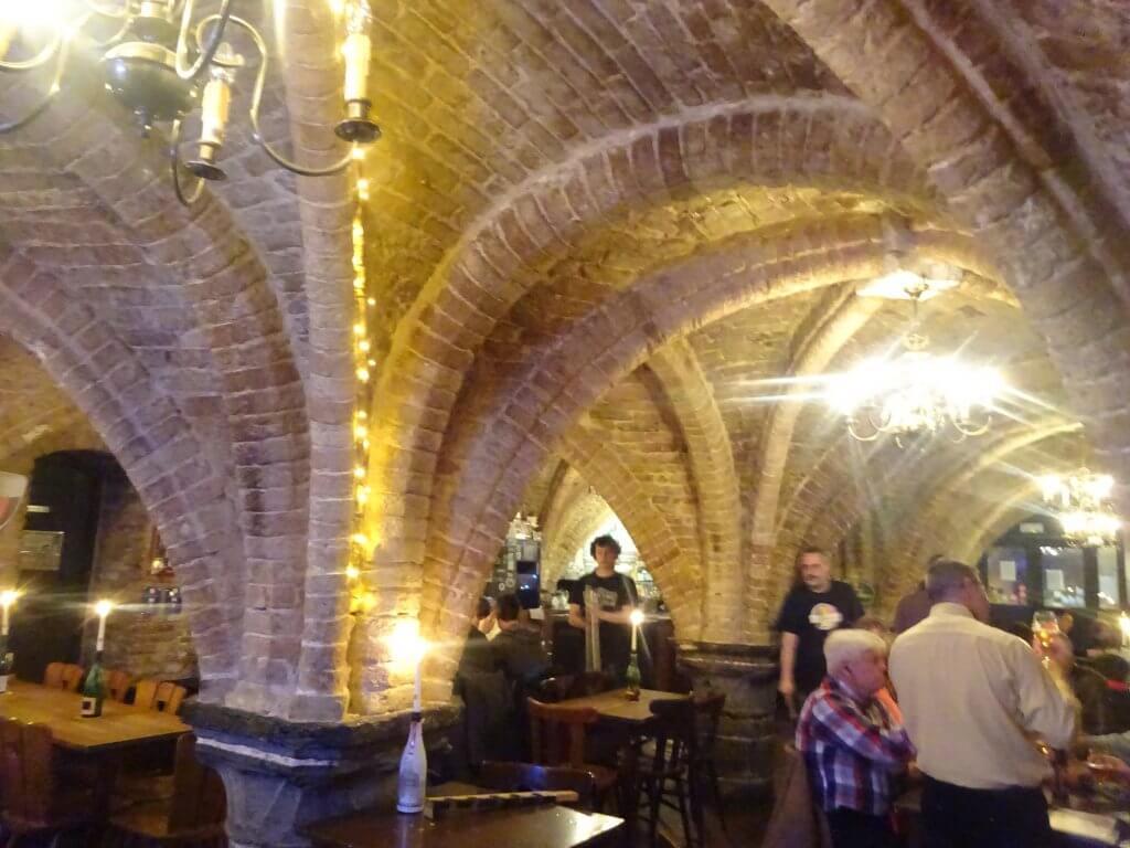 Interior Of Le Trappiste