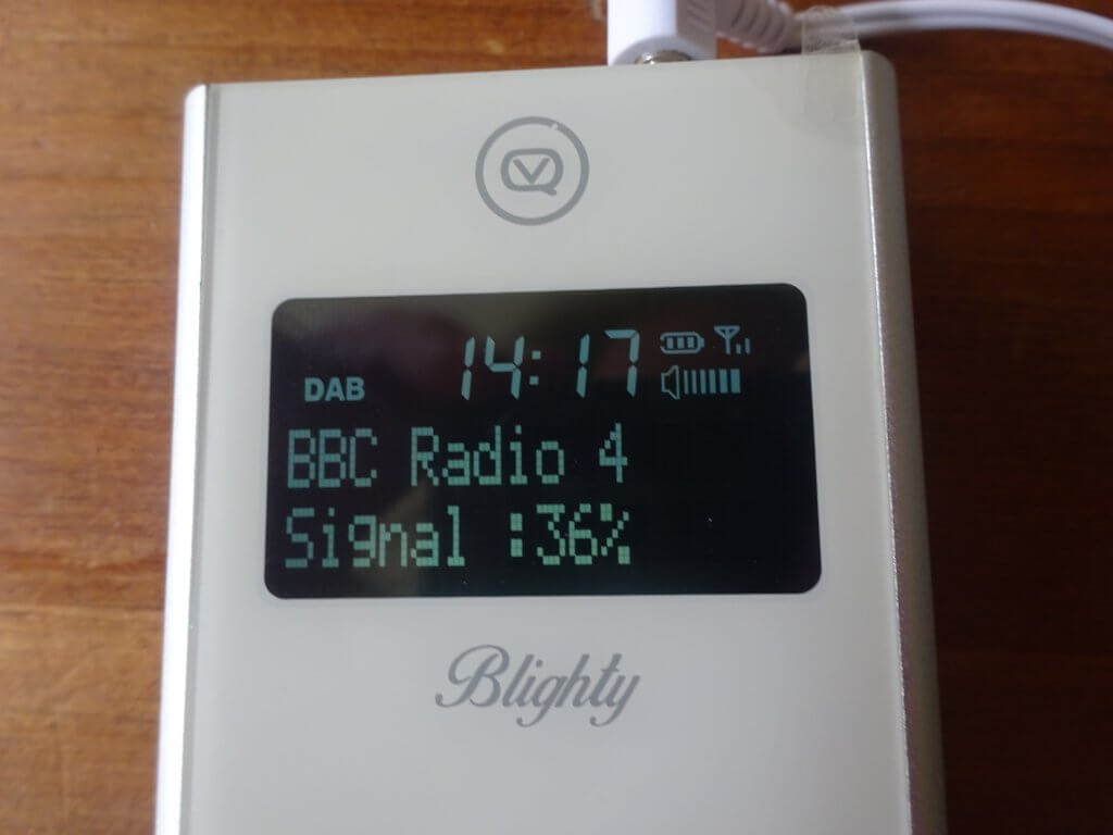 Display On Blighty Radio