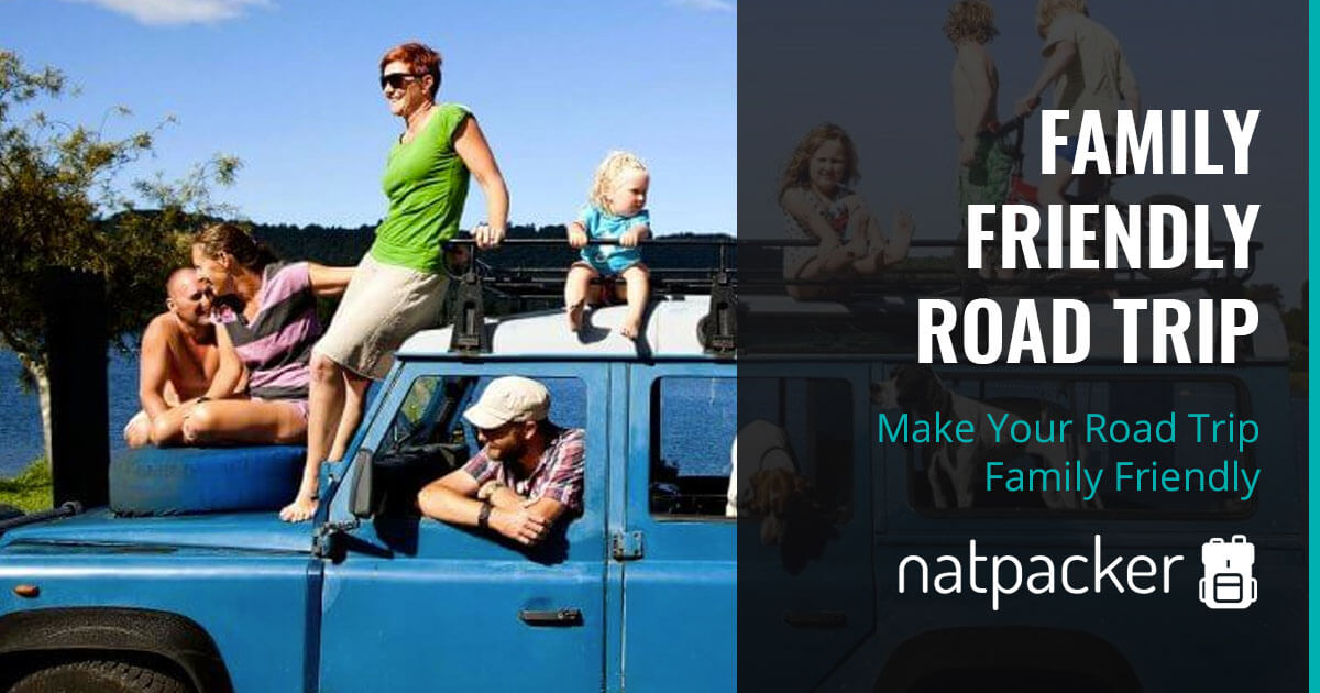 Guest Post - Make Your Road Trip Family Friendly