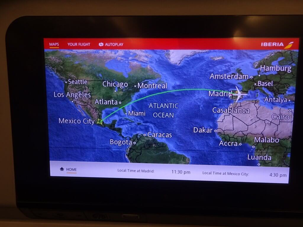 Interactive Map On The Entertainment Console