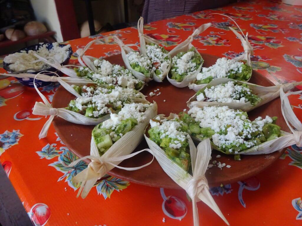Cactus Salad Boats