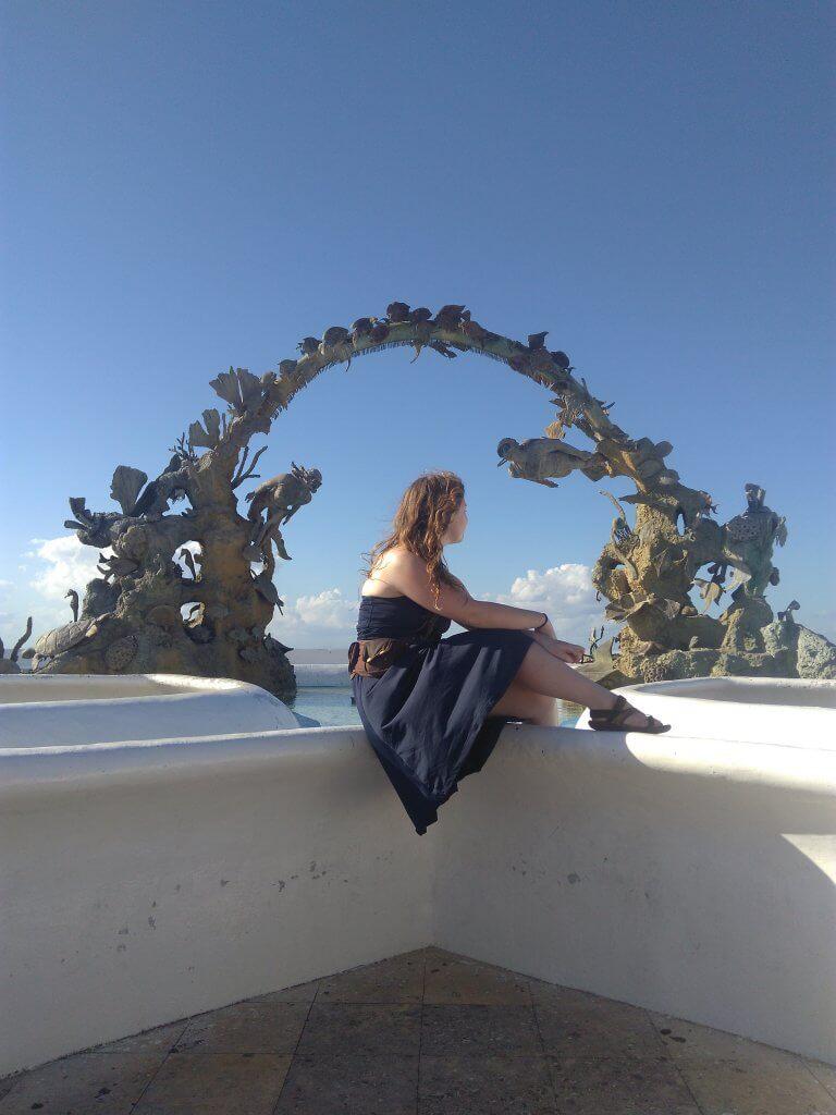 Kameleon Rose Travel Dress