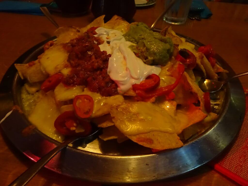 Nachos At Chimichangos