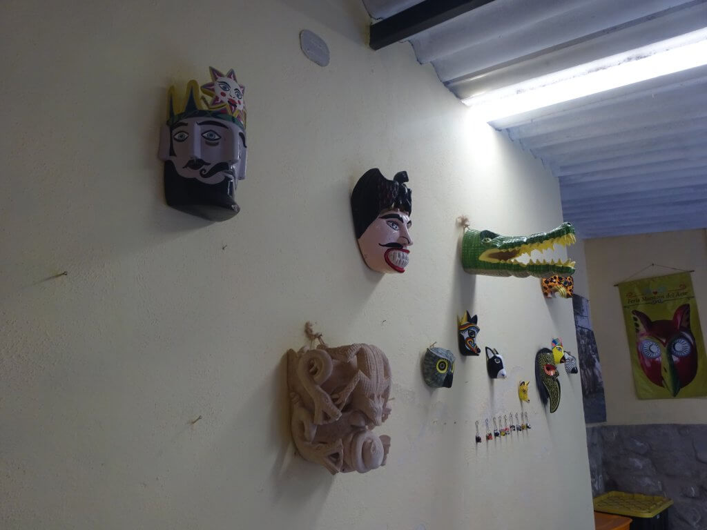Wall Of Masks