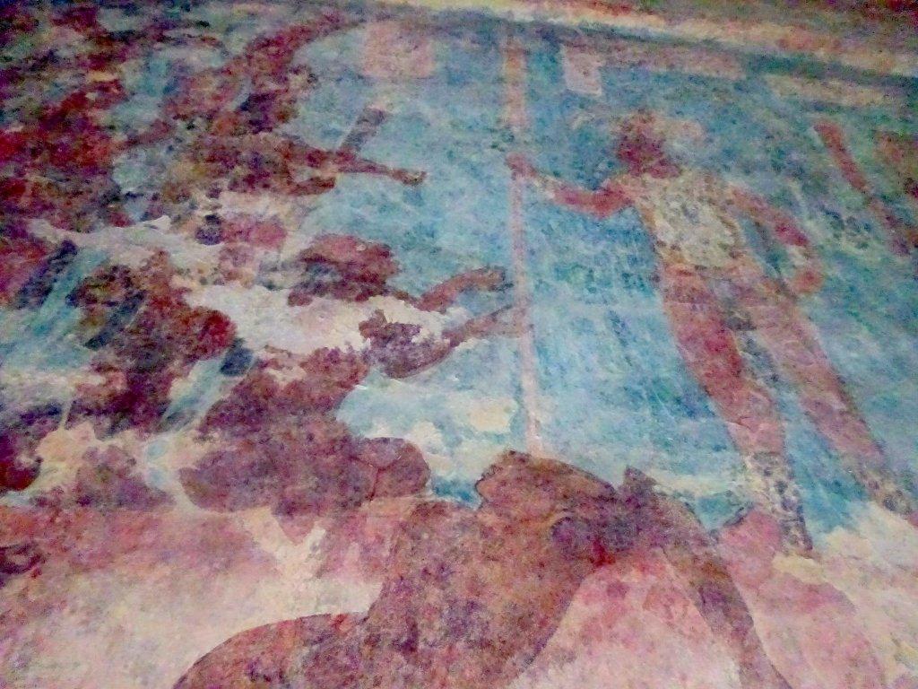 Murals In Bonampak