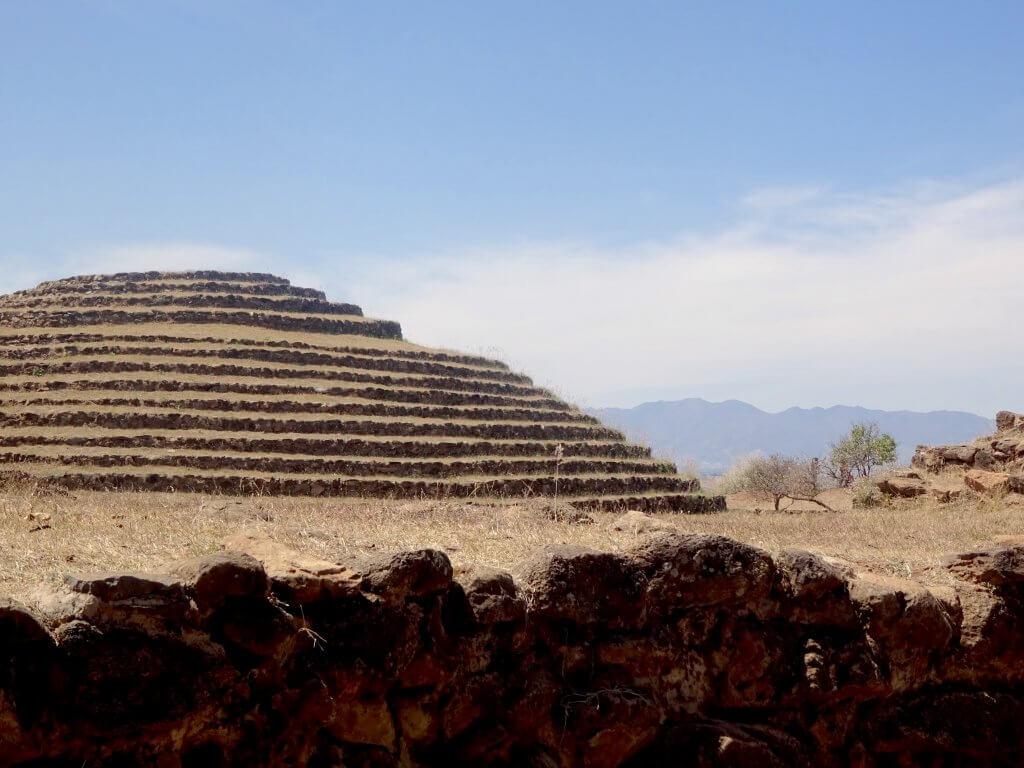 Guachimontones Pyramid