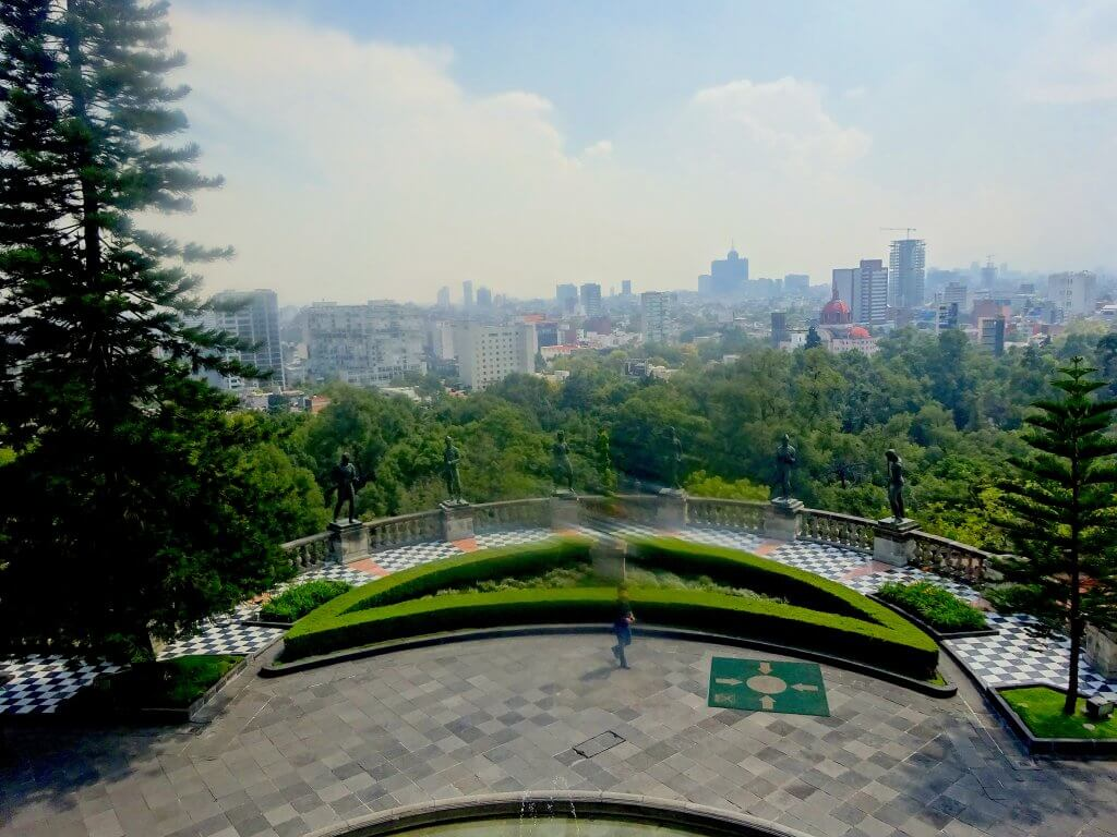 Chapultepec Castle View Point