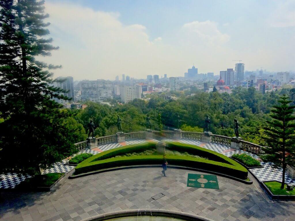 Chapultepec Castle View Point