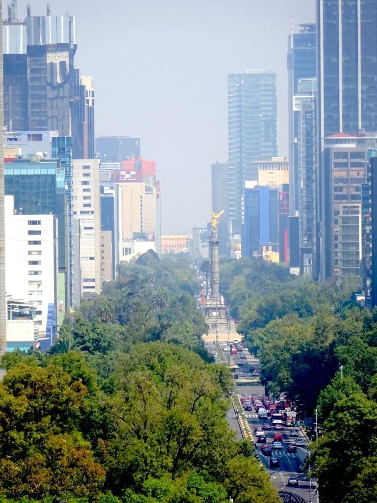 View Of La Reforma
