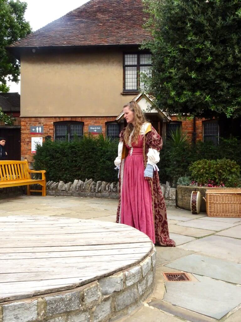 Actress At Shakespeare's Birthplace