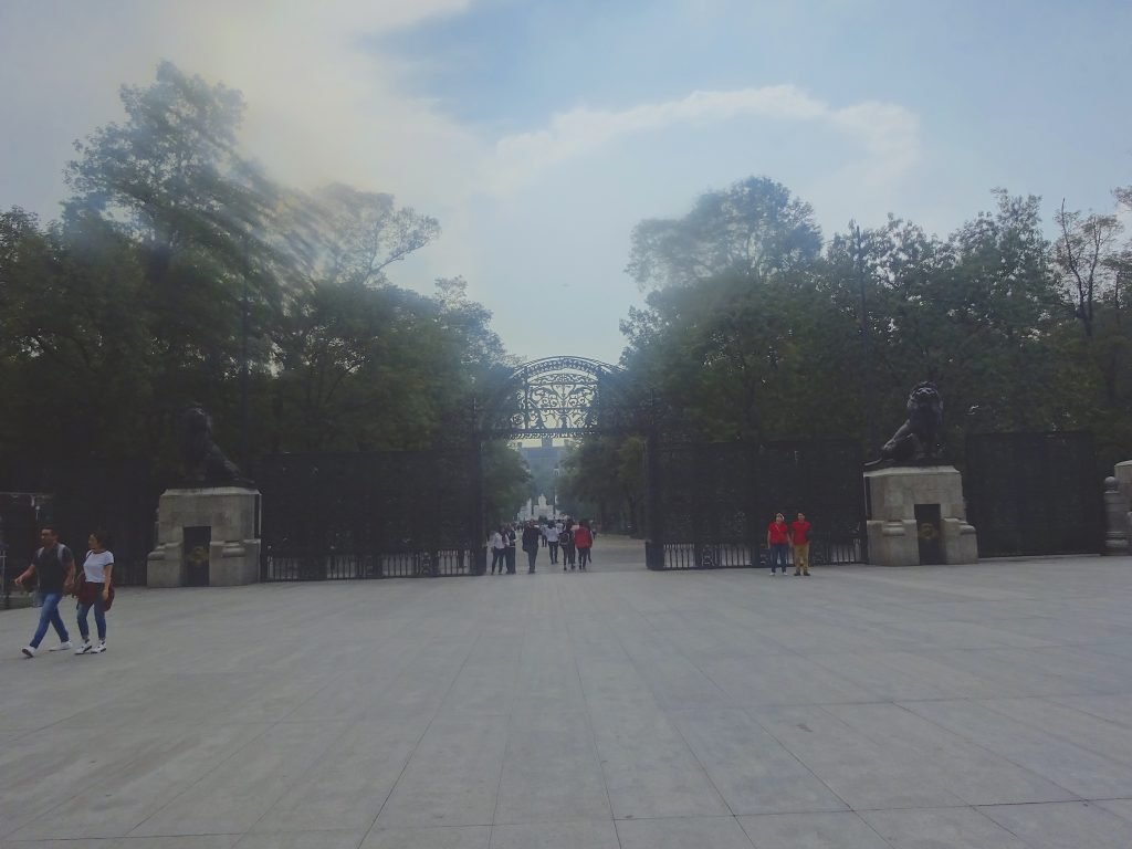 Entrance To Chapultepec Park From Reforma