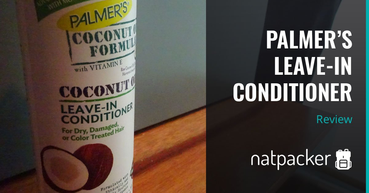 Palmer's Leave-In Conditioner Review