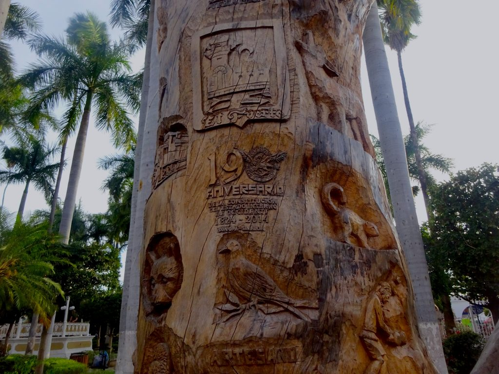 Carved Tree In El Fuerte