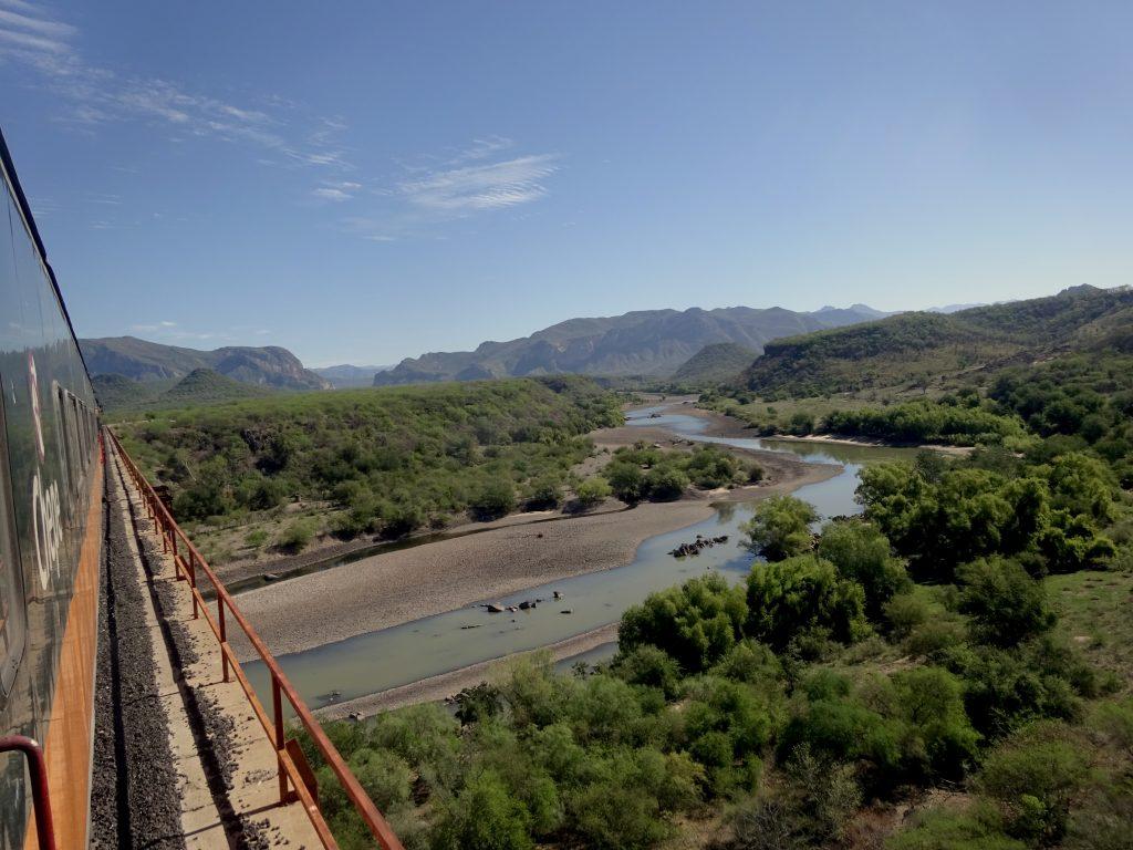 Crossing Rio Fuerte