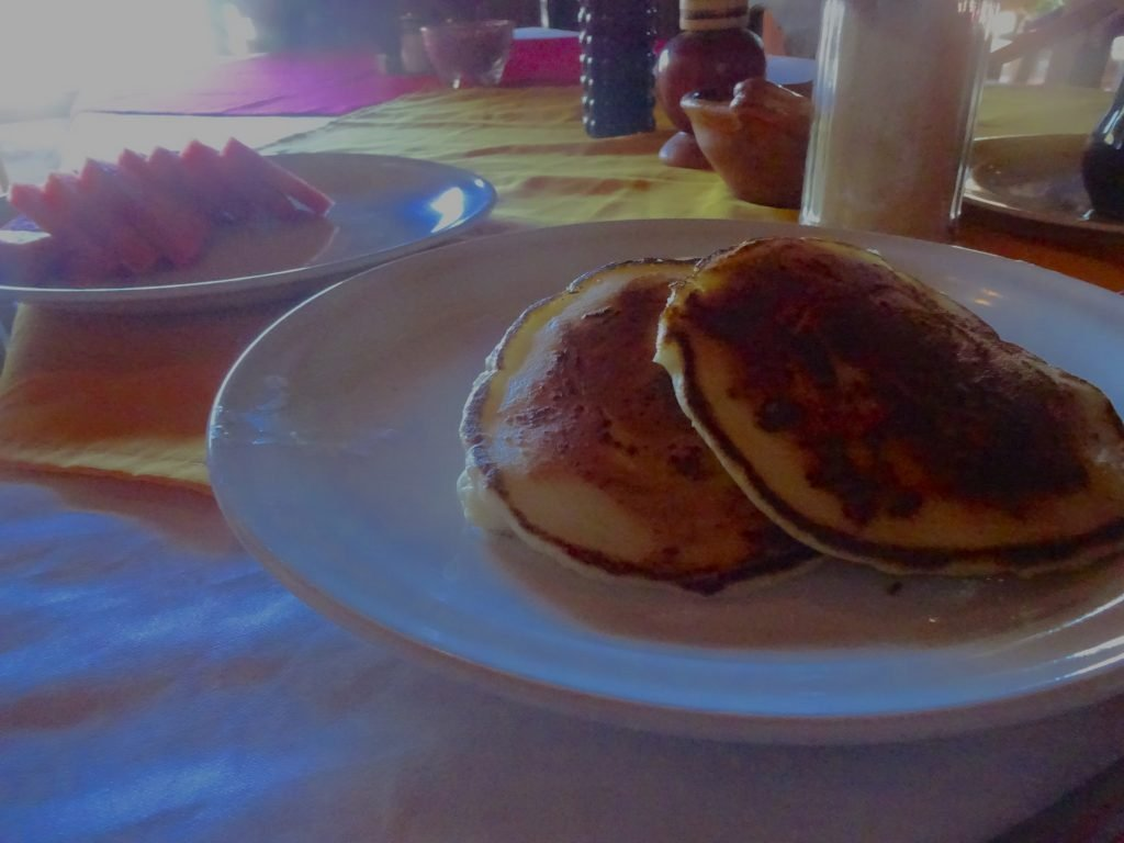 Hotcakes For Breakfast At San Isidro Lodge