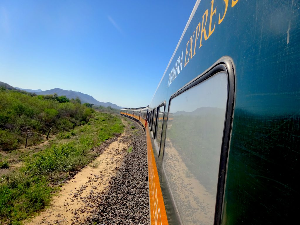 The Copper Canyon Railroad
