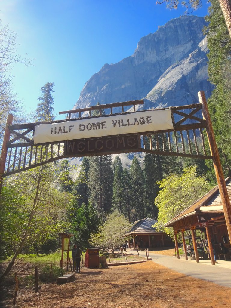 Half Dome Village Yosemite