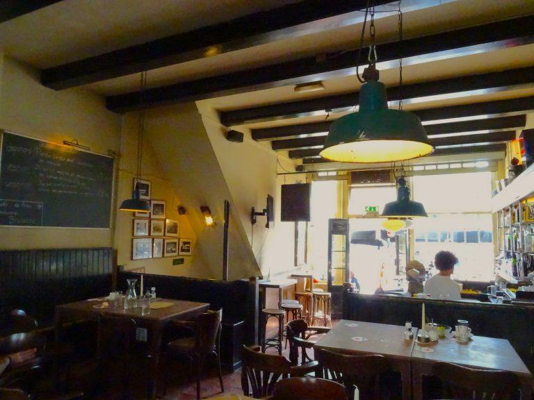 Inside Café de Prins