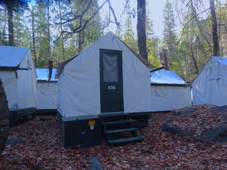 Our Tent Cabin