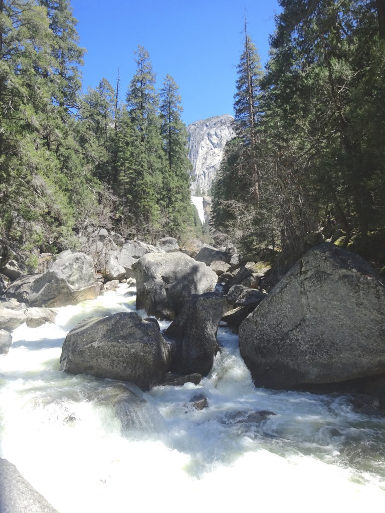 Vernal Falls From Vernal Bridge