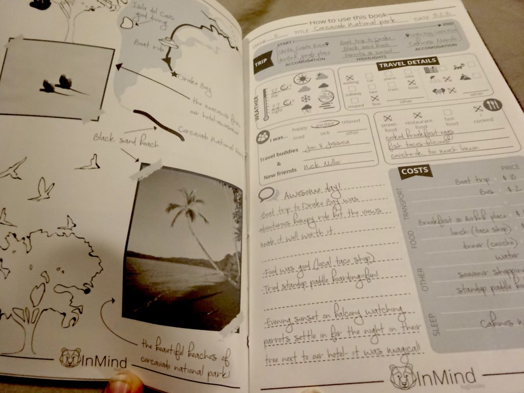 Example Of How To Use Bear InMind Logbook