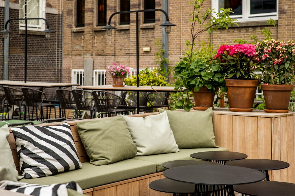 Terrace At Lloyds Hotel