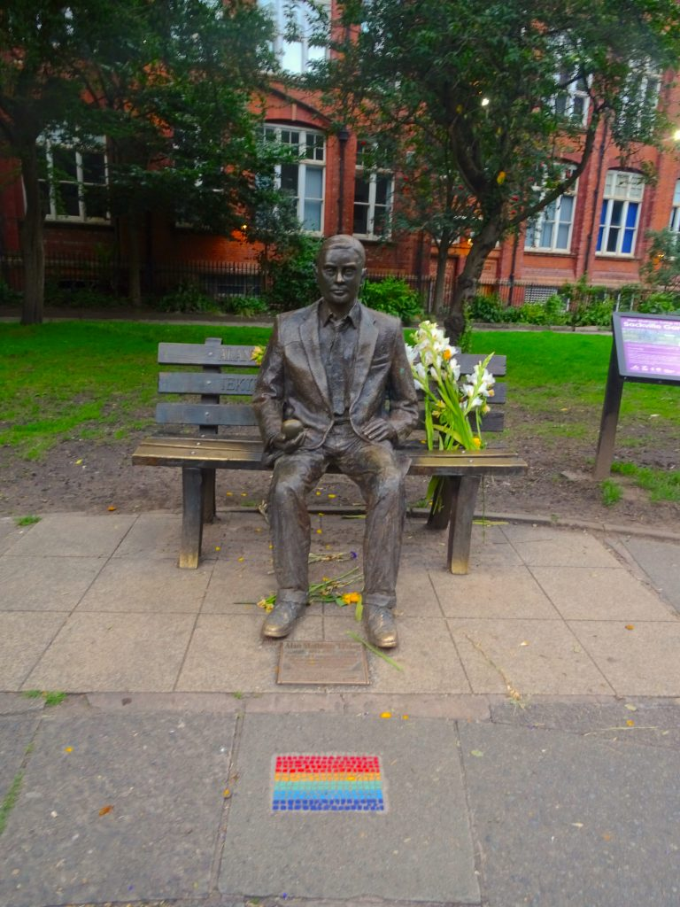 The Statue Of Alan Turing