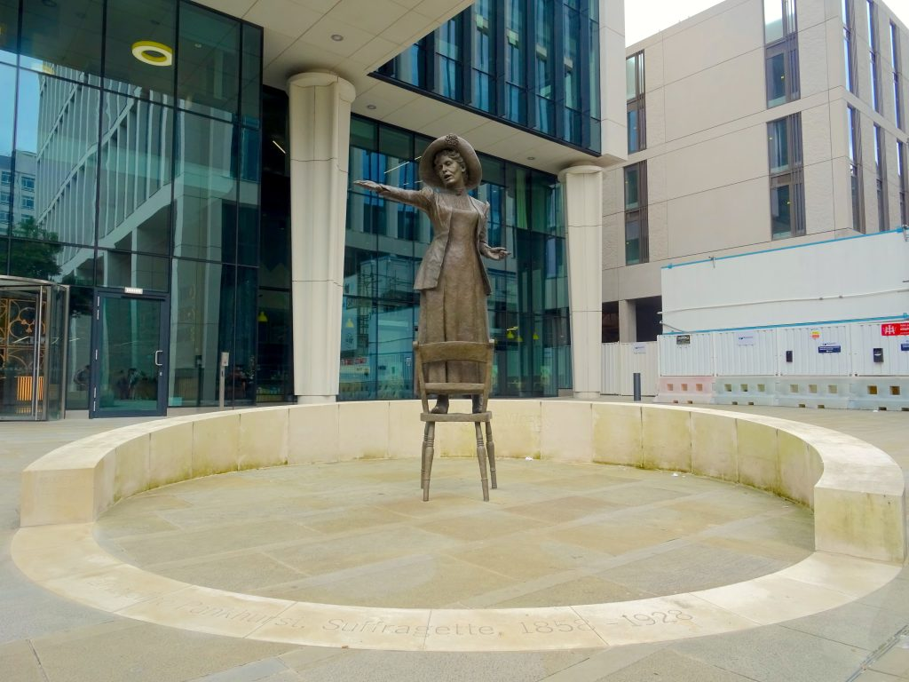 The Statue Of Emmeline Pankhurst – Rise Up Women