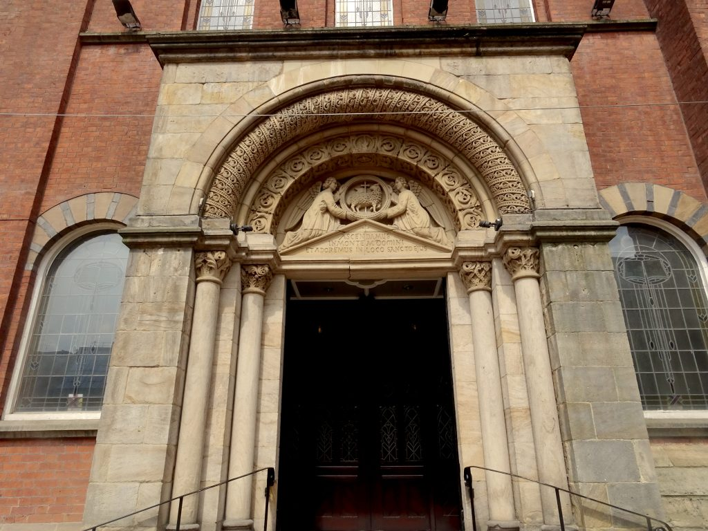 The Doorway Of St Mary's