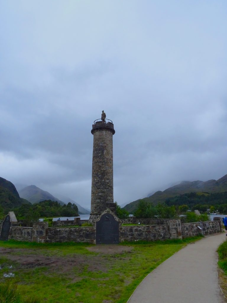 Monument On Loch Shiel