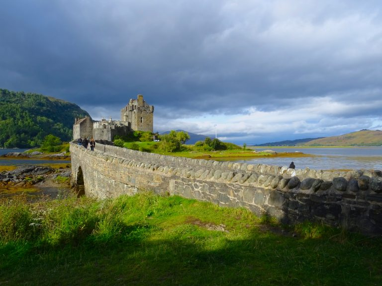 Can't Believe We Had Such A Clear Day At Eilean Donan