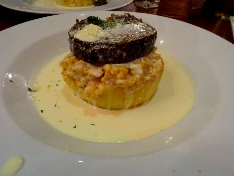 Haggis, Neeps And Tatties At Maggie Dickensons