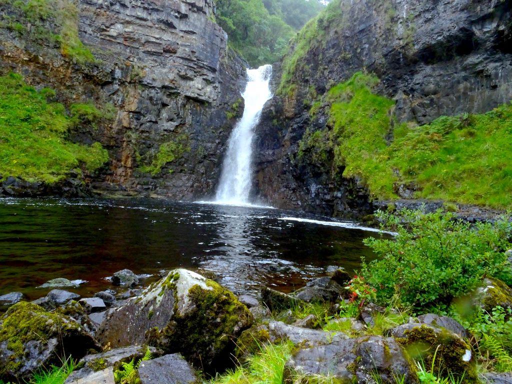 Bottom Of Lealt Falls