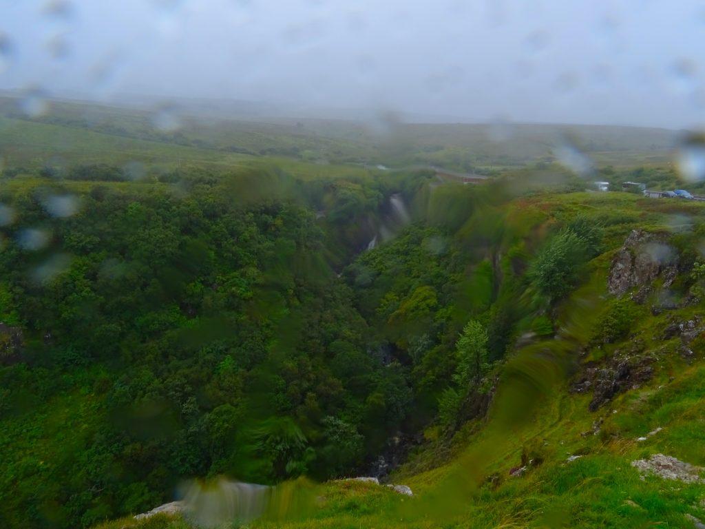 Above Lealt Falls