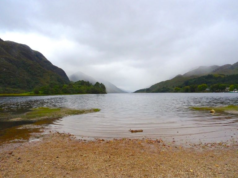 Loch Shiel Where The Bonnie Prince Charlie Monument Is