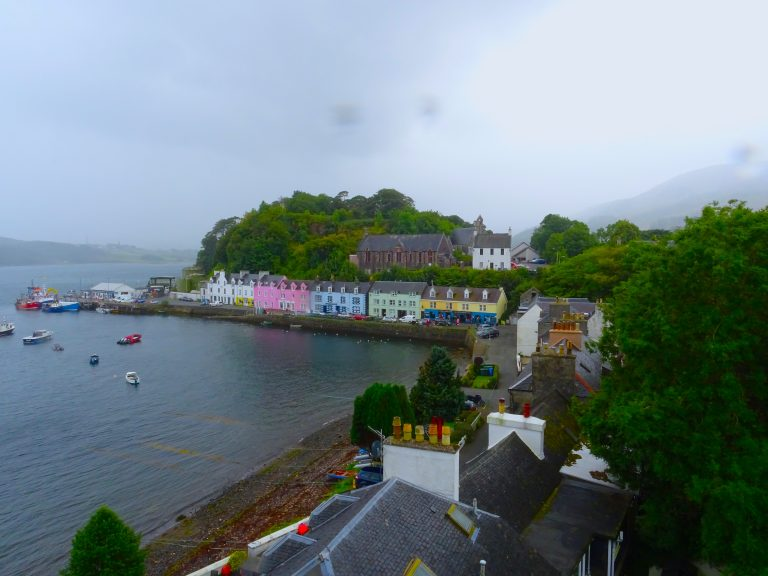 The Pretty Colourful Houses Of Portree