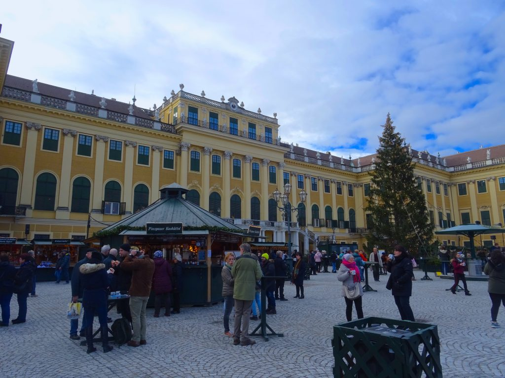 Christmas Market At The Palace